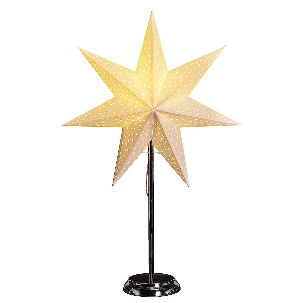 Adventsstjärna med fot