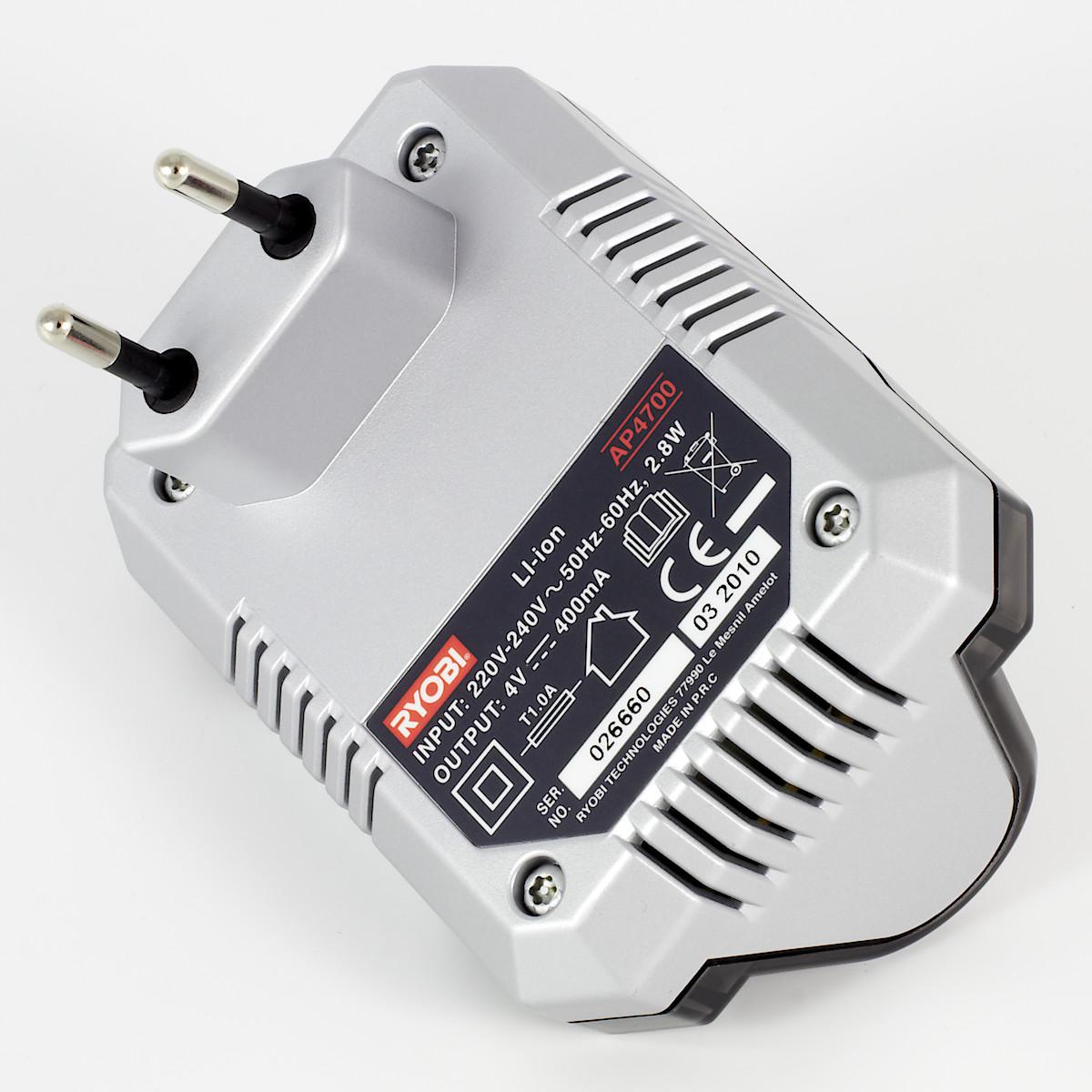 Batteriladdare Ryobi 4 V