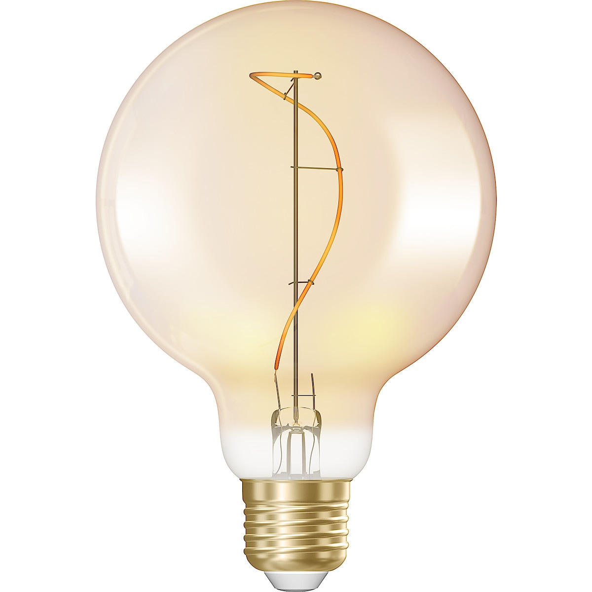 LED-Schmucklampe Globe E27 Amber, Northlight