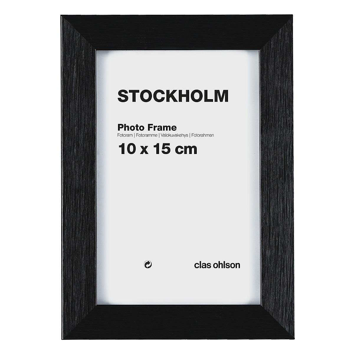Fotoramme Stockholm, svart
