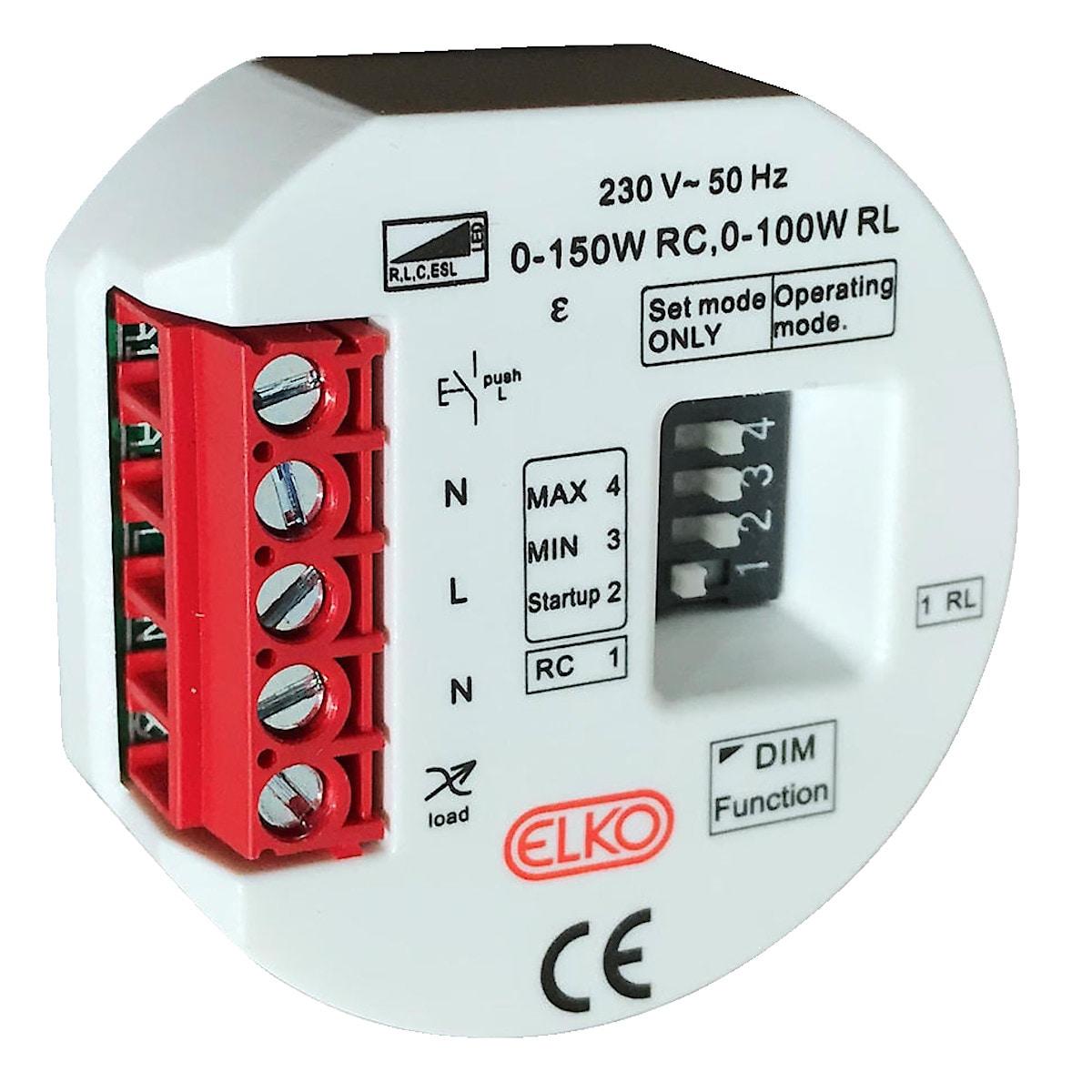 ELKO boksdimmer LED 150 W