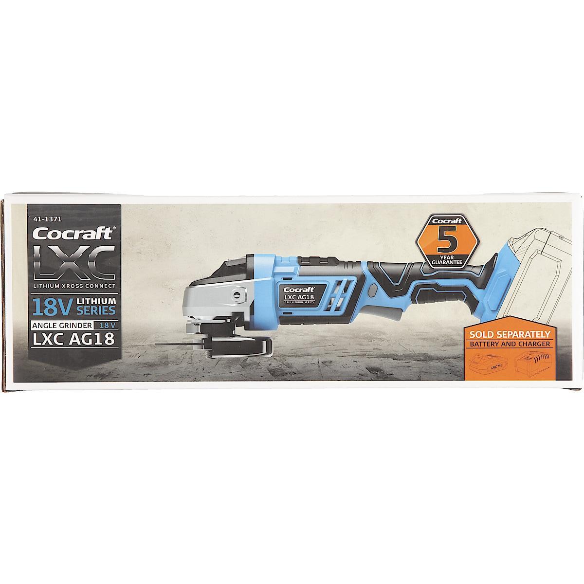 Kulmahiomakone Cocraft LXC AG18