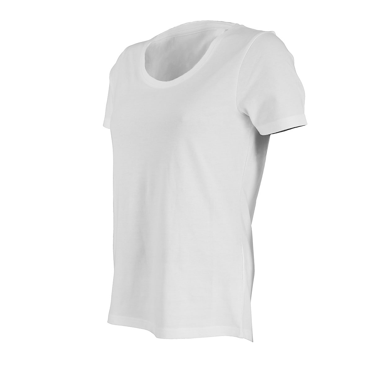 T-shirt dame, hvit