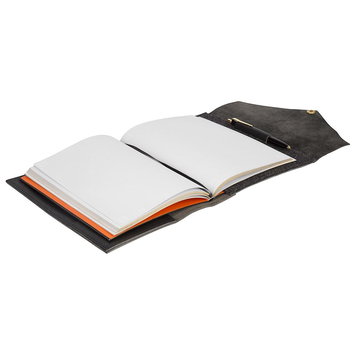 Limited Edition Notatbok med skinnomslag og penn