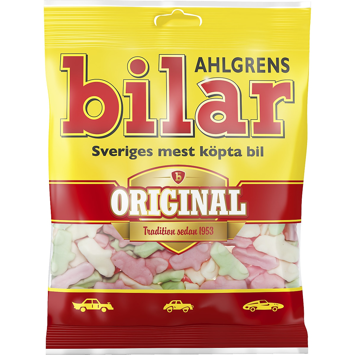 Ahlgrens Bilar Chewy Car Sweets 200 g