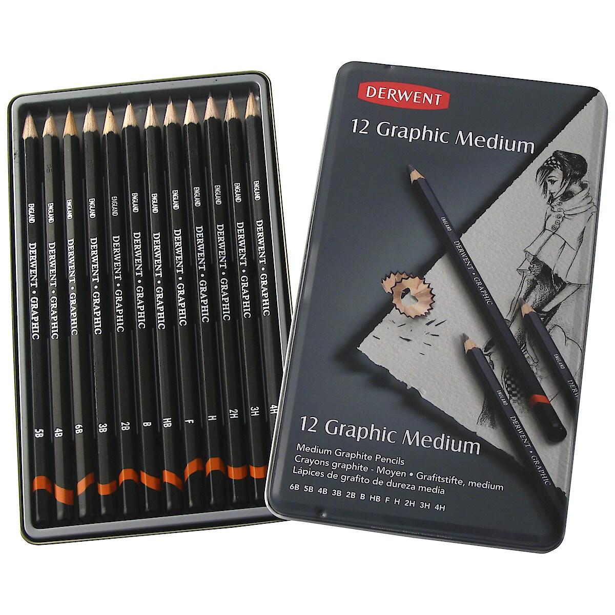 Derwent Pencil Set