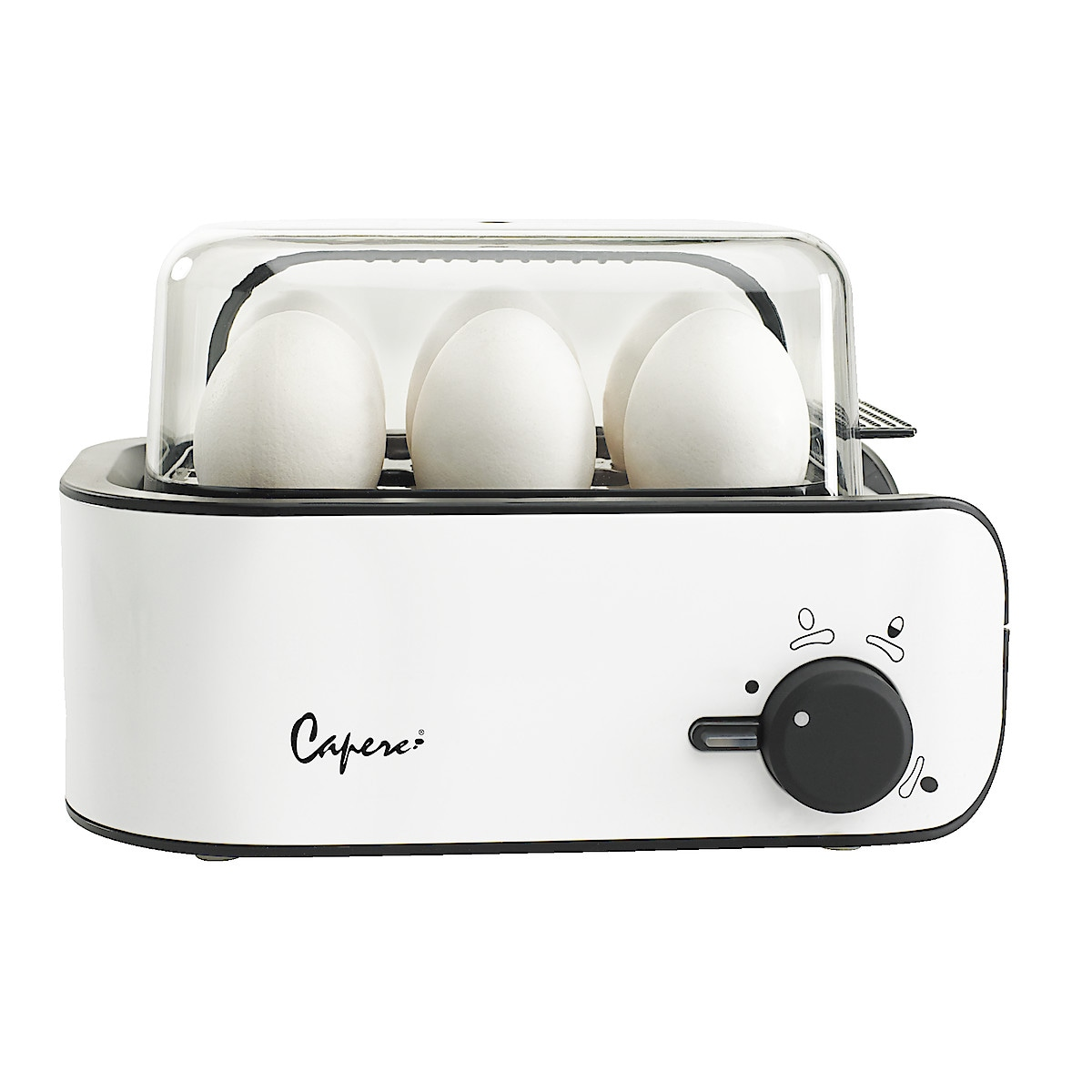 Eggkoker, Capere