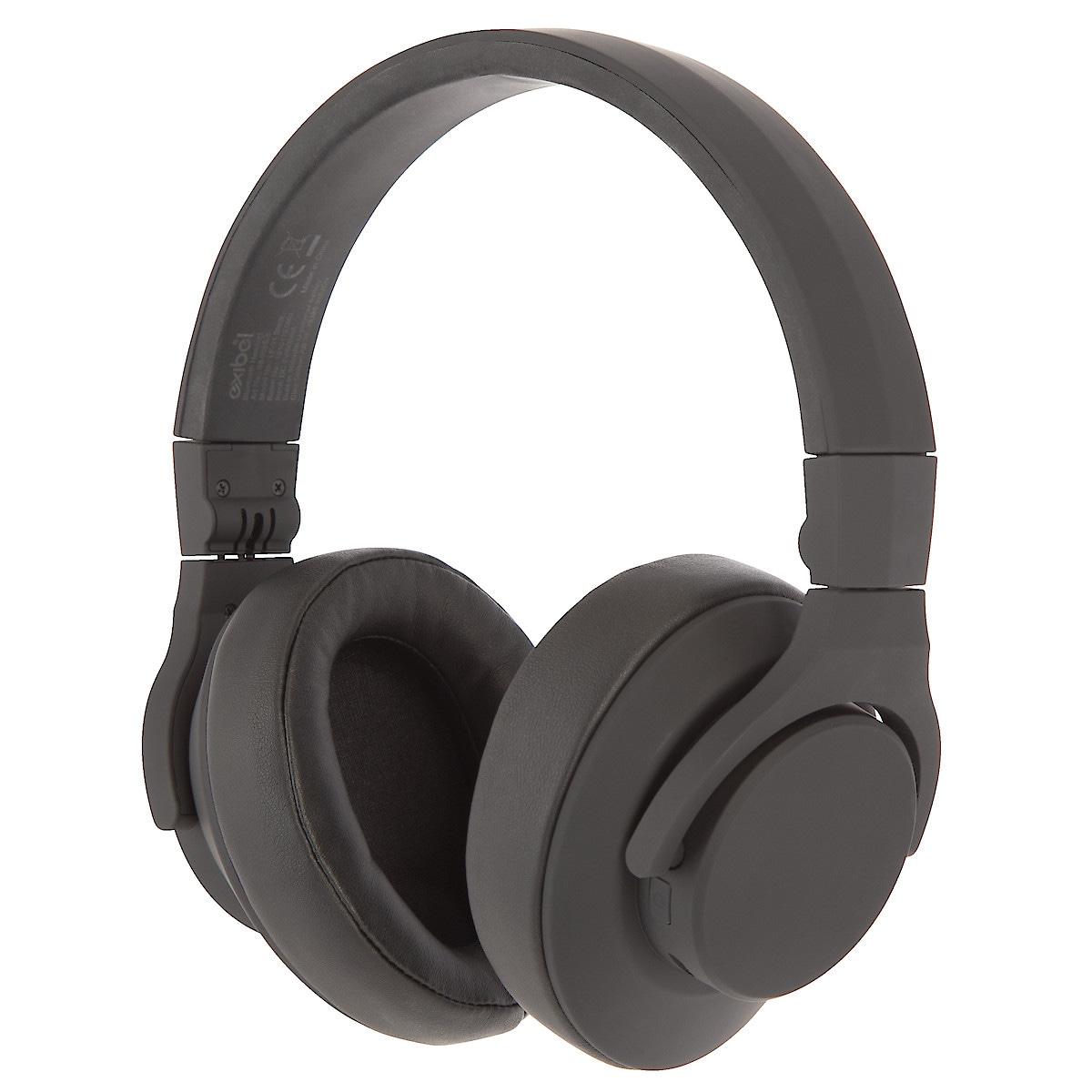 Trådlösa hörlurar med mikrofon, Exibel Obsidian
