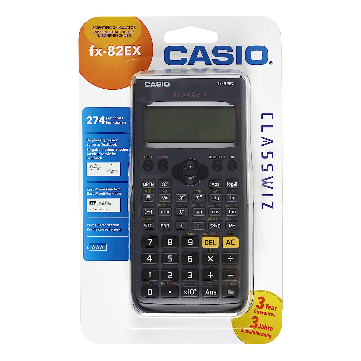 Casio fx-82EX - Highlights - YouTube
