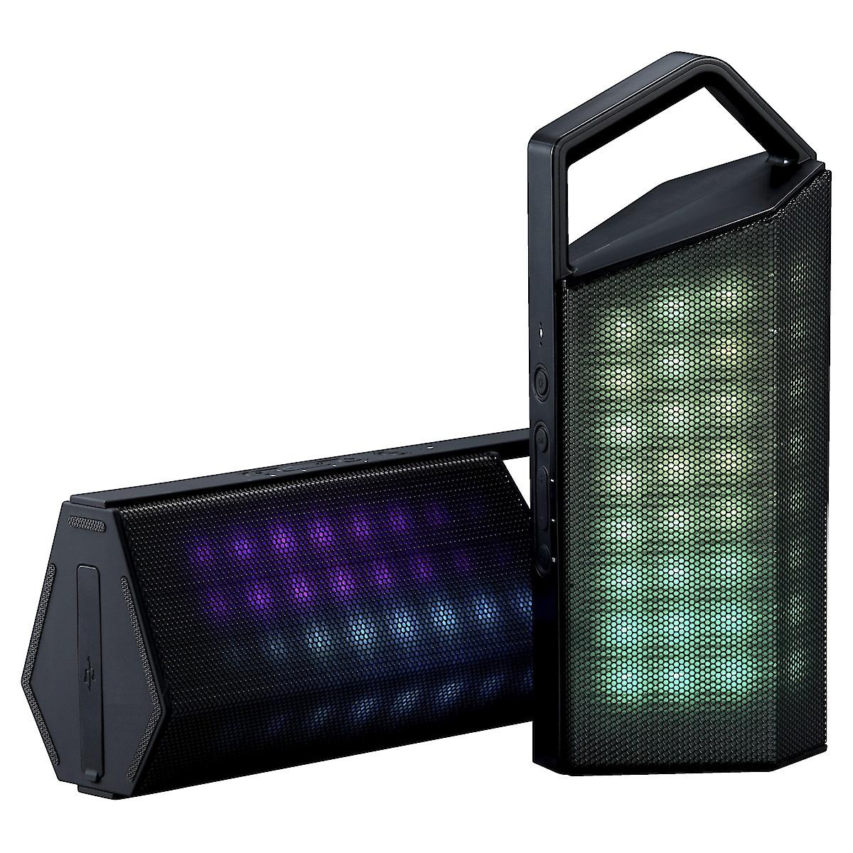 Speaker with LED Effect Lighting