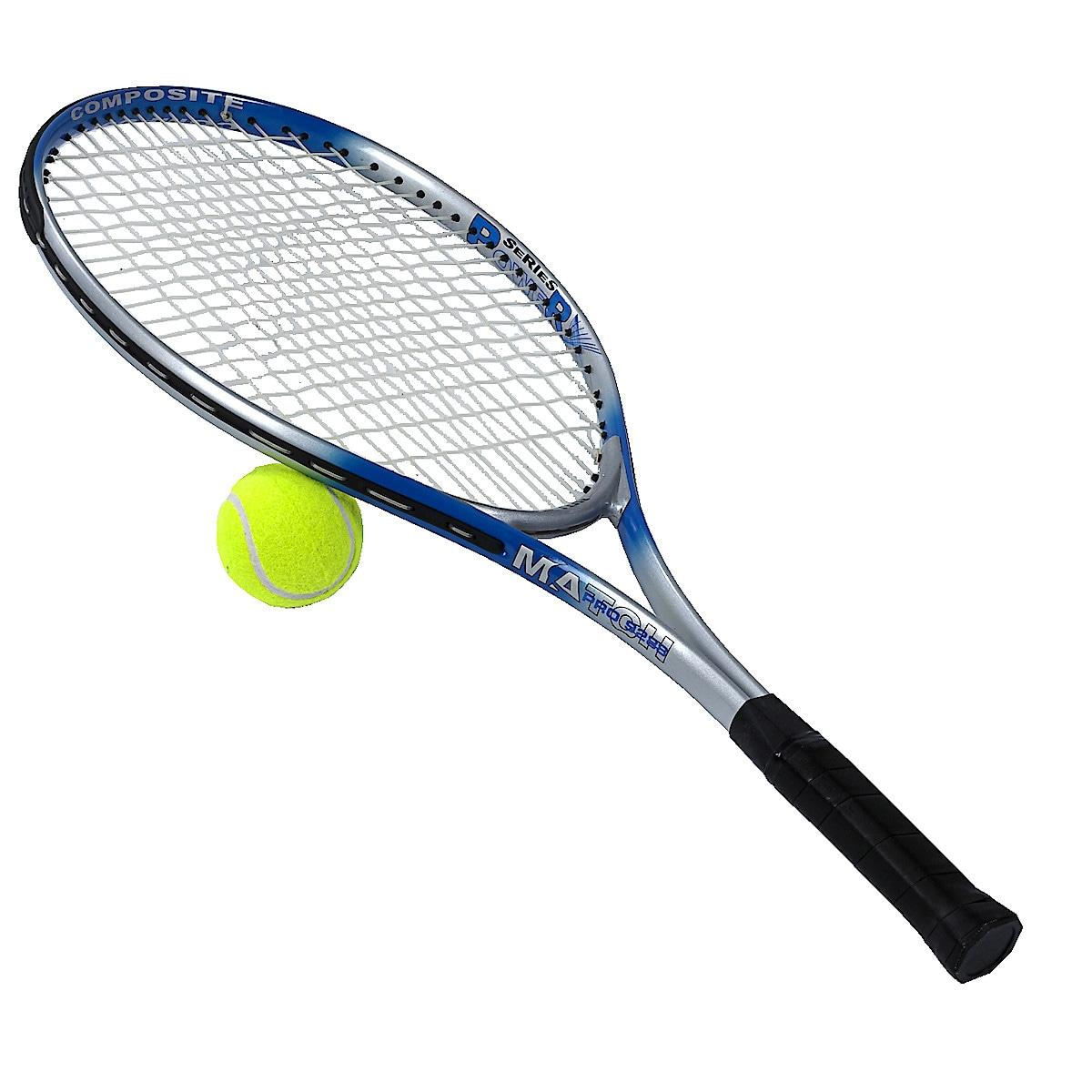 Tennisracket med ball