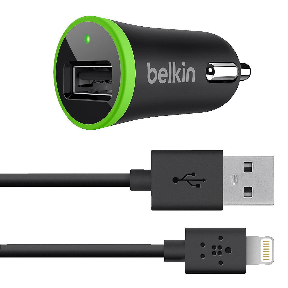 Belkin 12 V Charger with Lightning Connector for iPod/iPhone/iPad