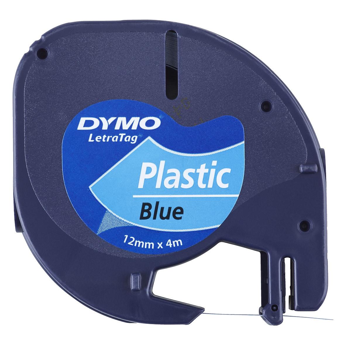Märkband plast Dymo LetraTag