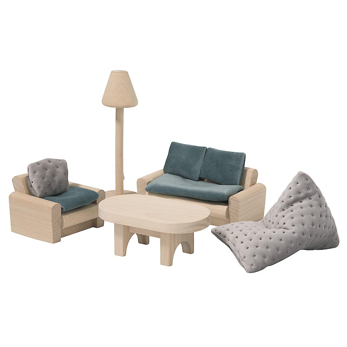 Dockskåpsmöbler vardagsrum