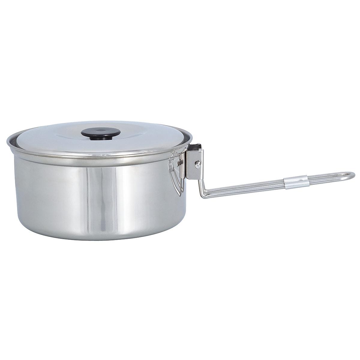 Asaklitt 6-Piece Stainless Steel Cookware Set