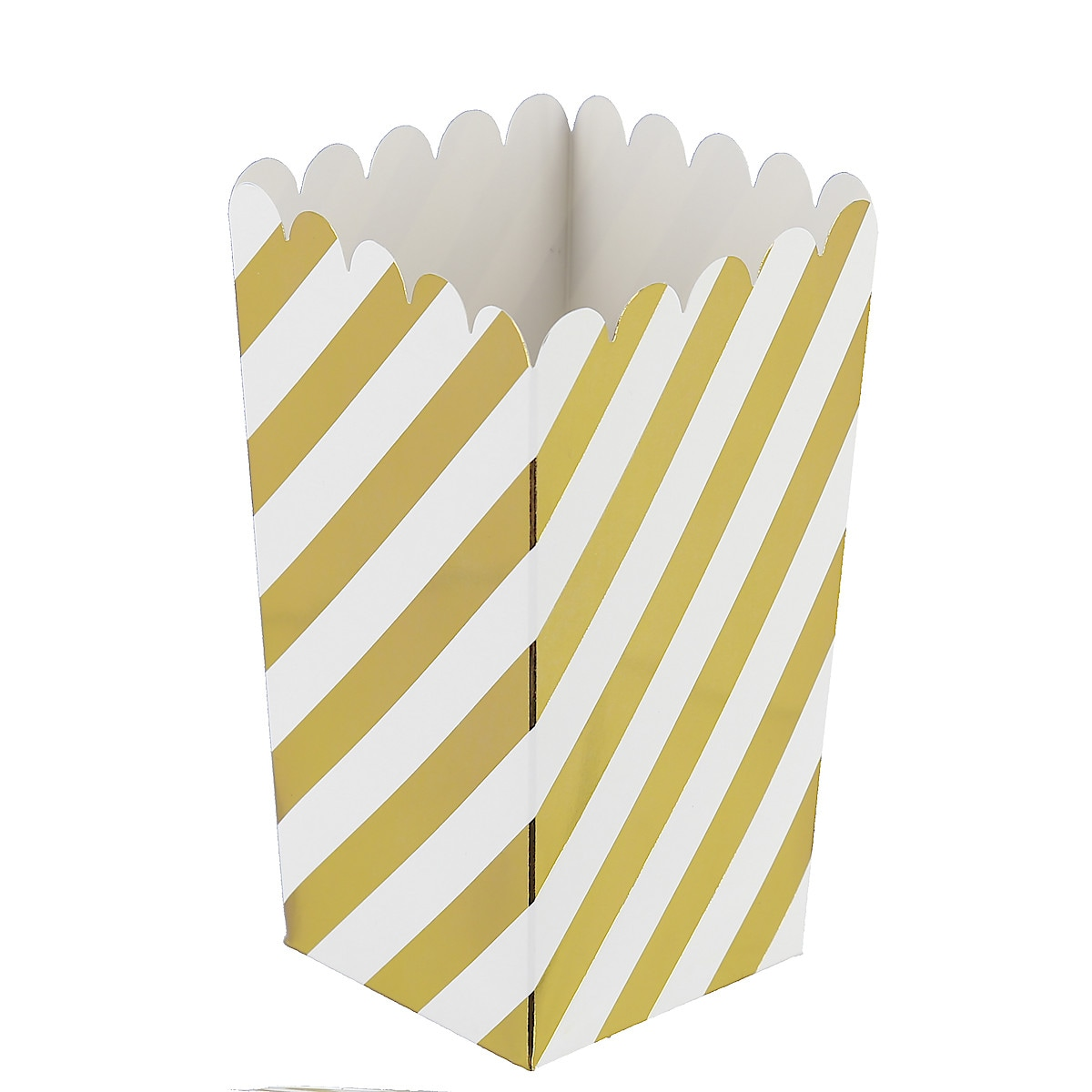 Popcornbägare, guld