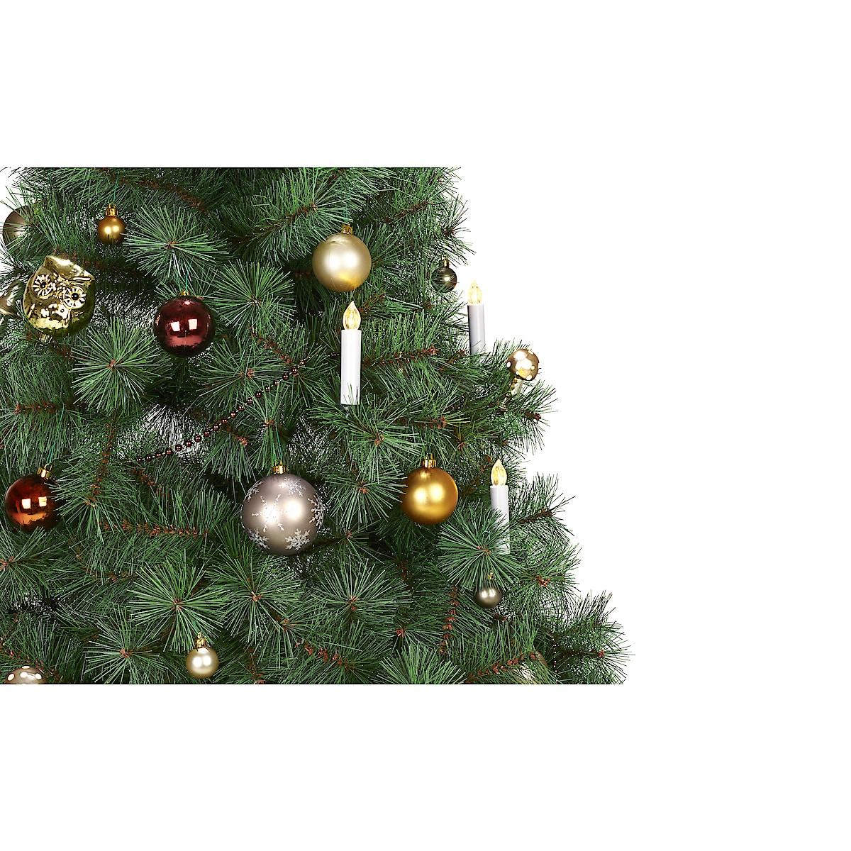 Trådløs juletrebelysning med fjernkontroll