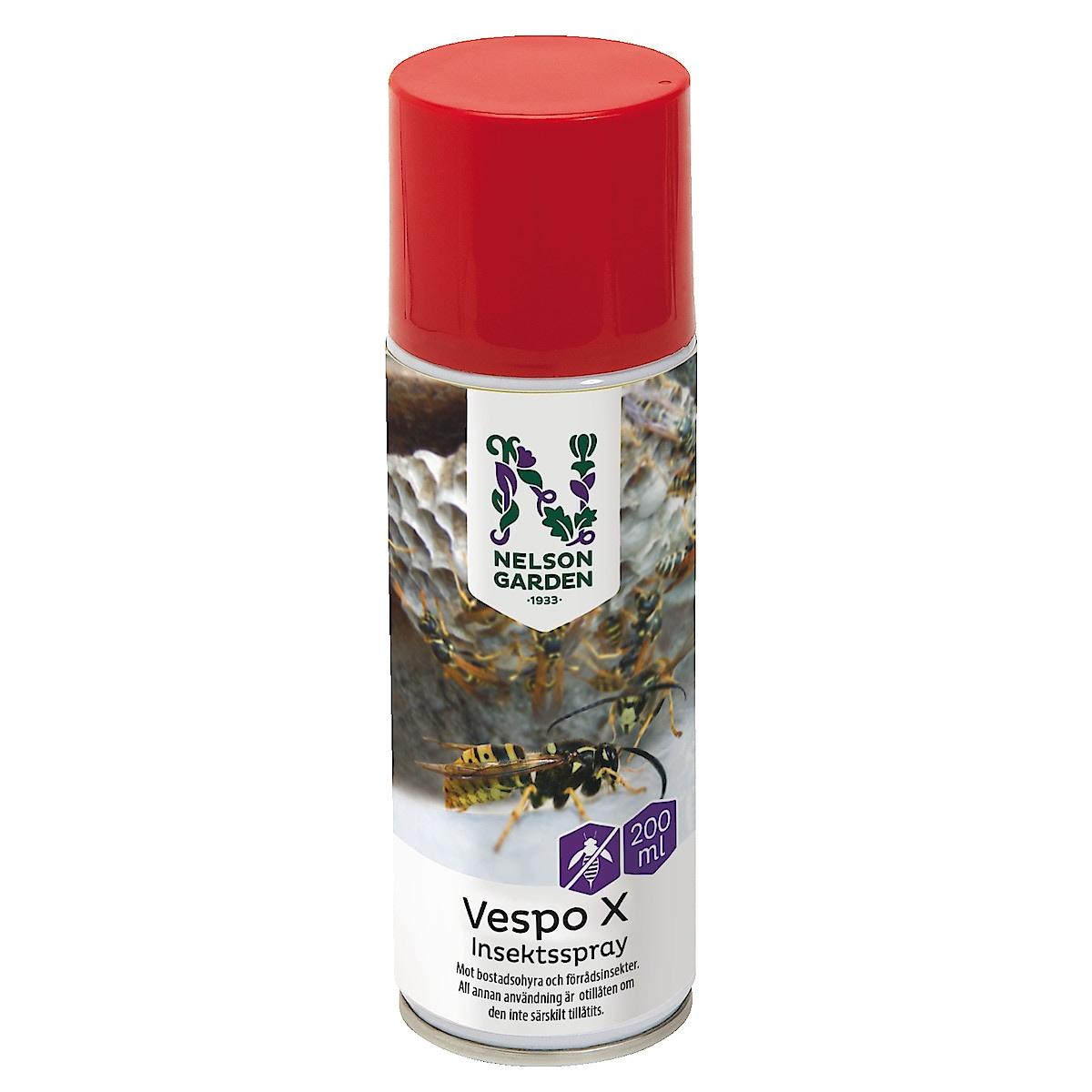 Insektsspray Vespo X, Nelson Garden