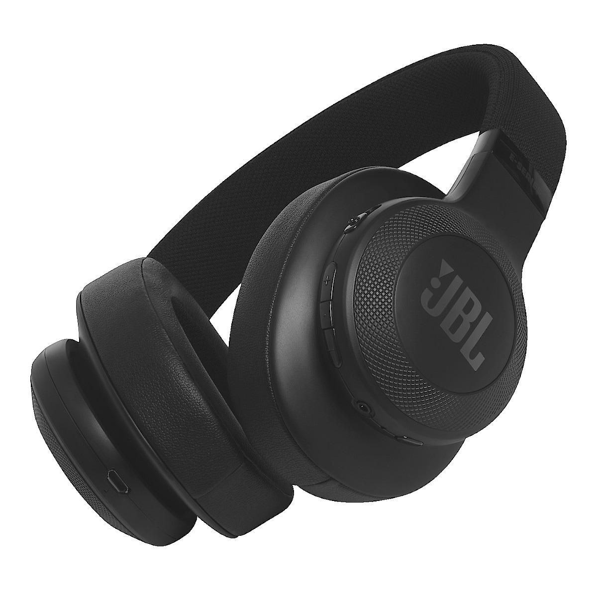 Trådlösa hörlurar med mikrofon JBL E55BT