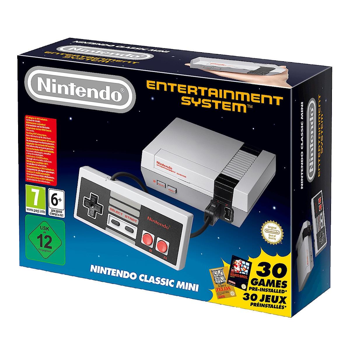 Nintendo Classic Mini NES, spillkonsoll
