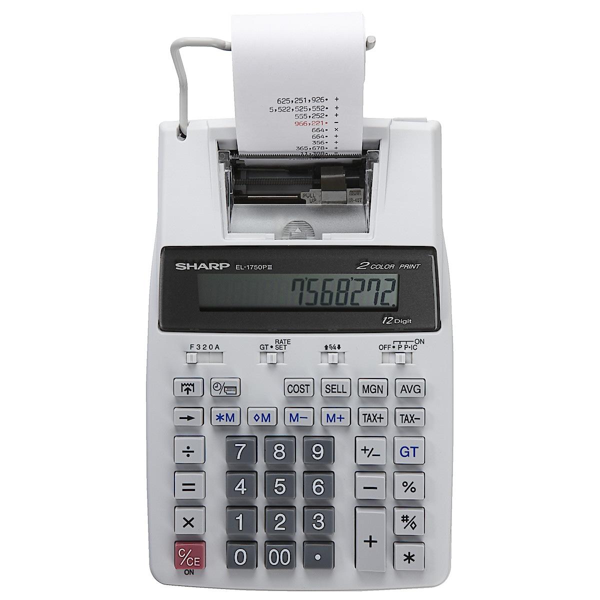 Bordsräknare Sharp EL1750PIII