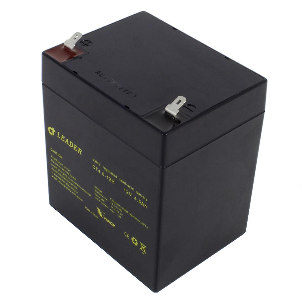 Batteri 12 V/4,5 Ah