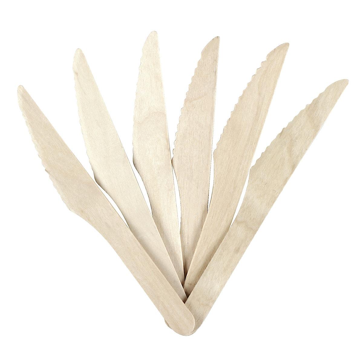 Kertakäyttöaterimet bambu, 18 kpl