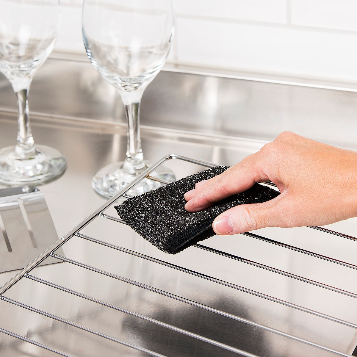 Steel Scouring Pads 2-pack