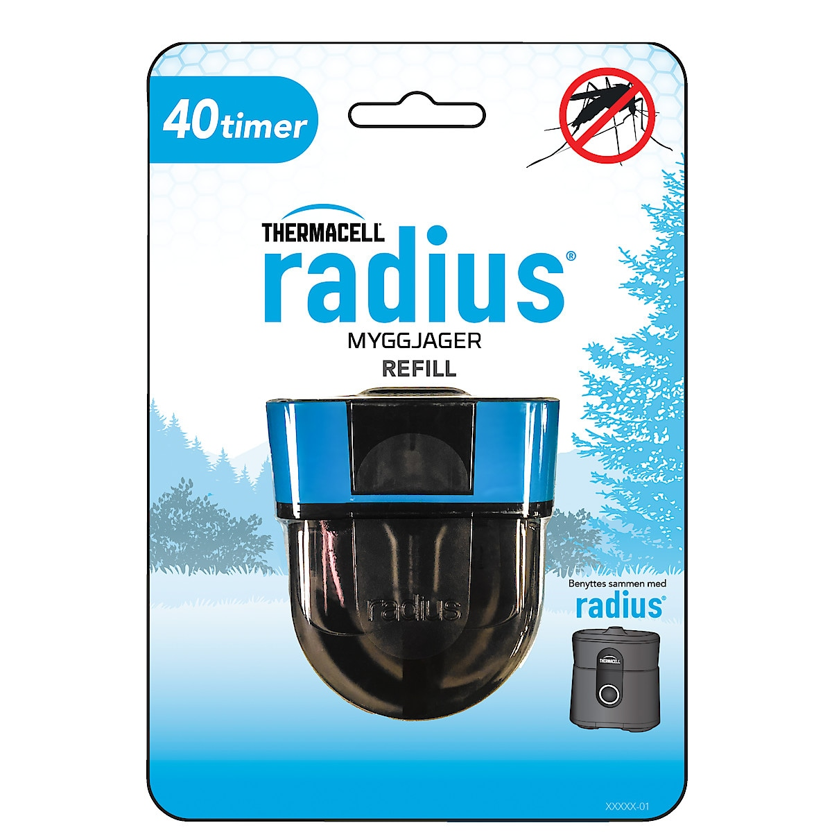 Refill til Thermacell Radius myggjager
