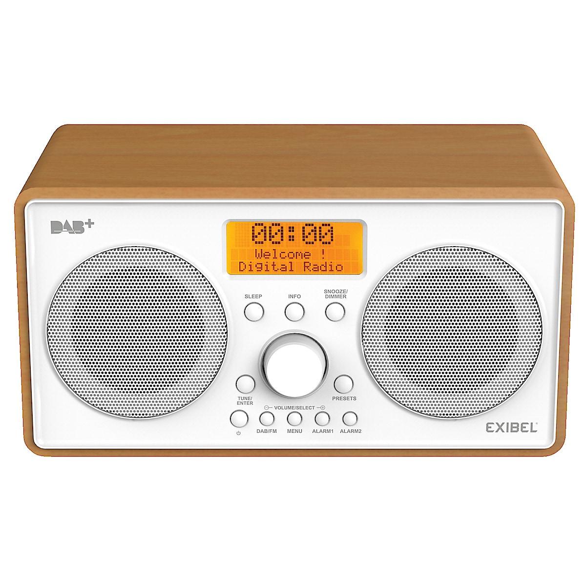 DAB+/UKW-Radio Exibel X40