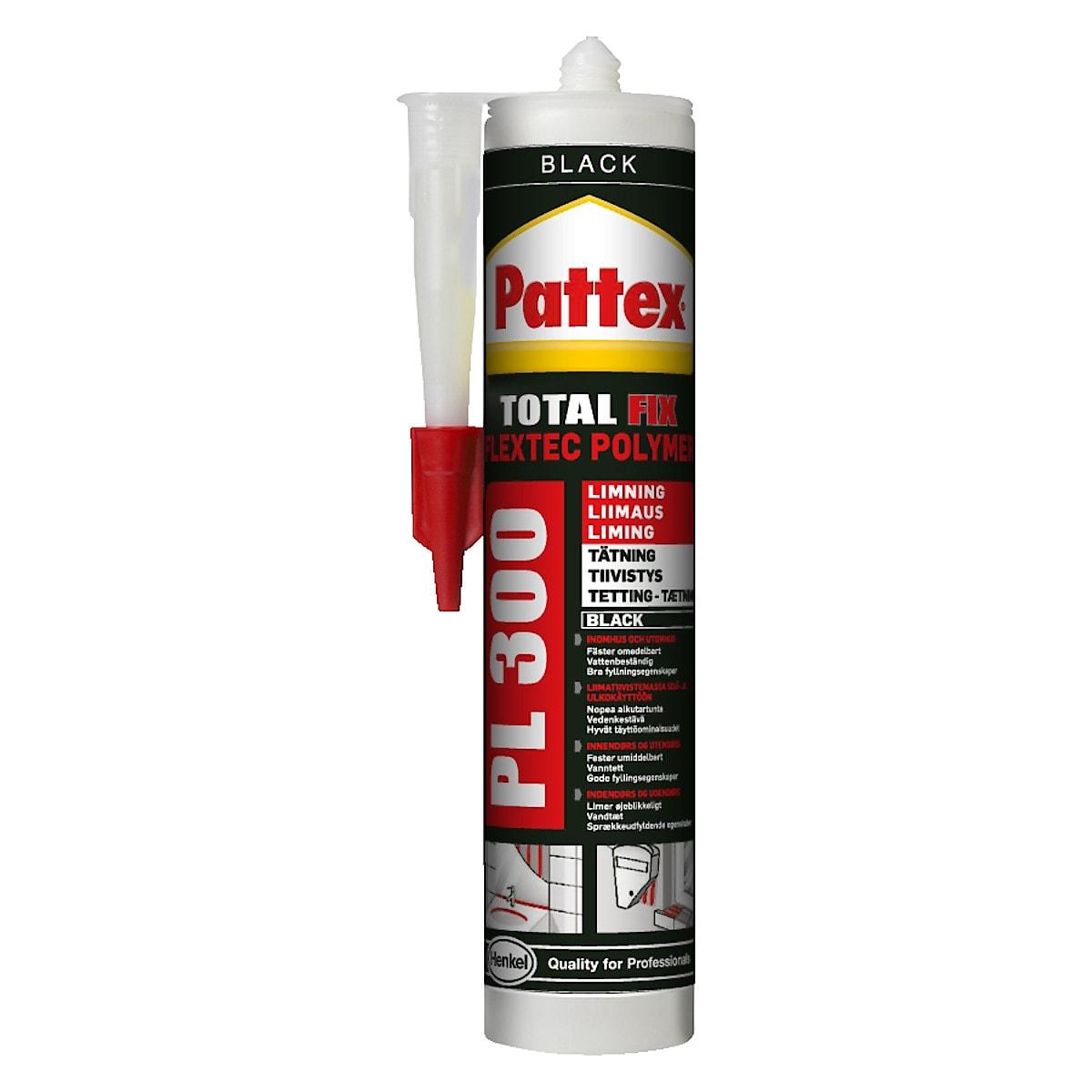 Asennusliima ja saumamassa Total Fix PL300 Pattex