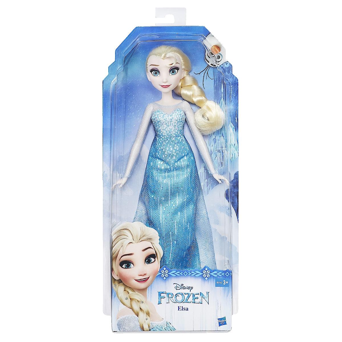 Dukken Elsa fra Disneys Frozen, 28 cm