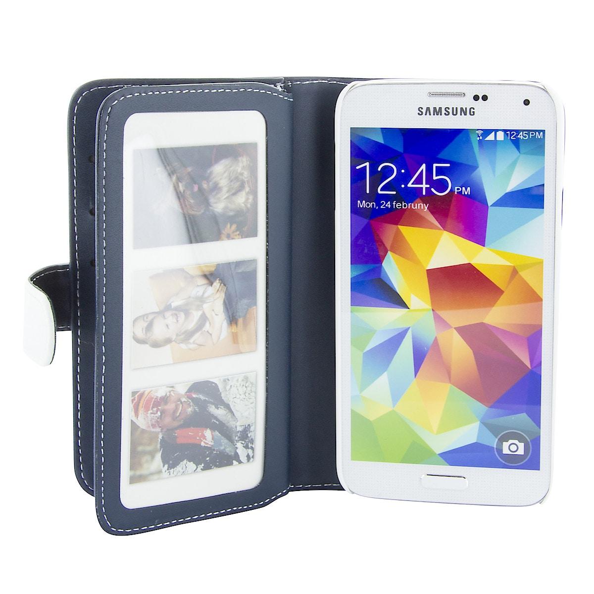 Plånboksfodral XL för Samsung Galaxy S5, Holdit