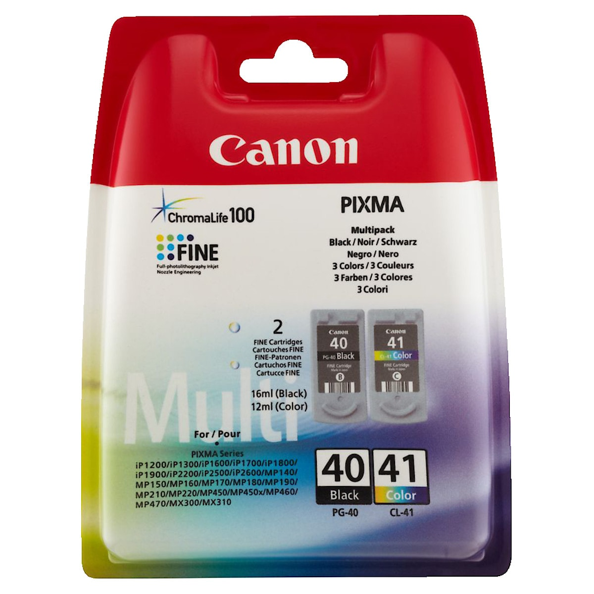Canon PG-40/CL-41 Ink Cartridge