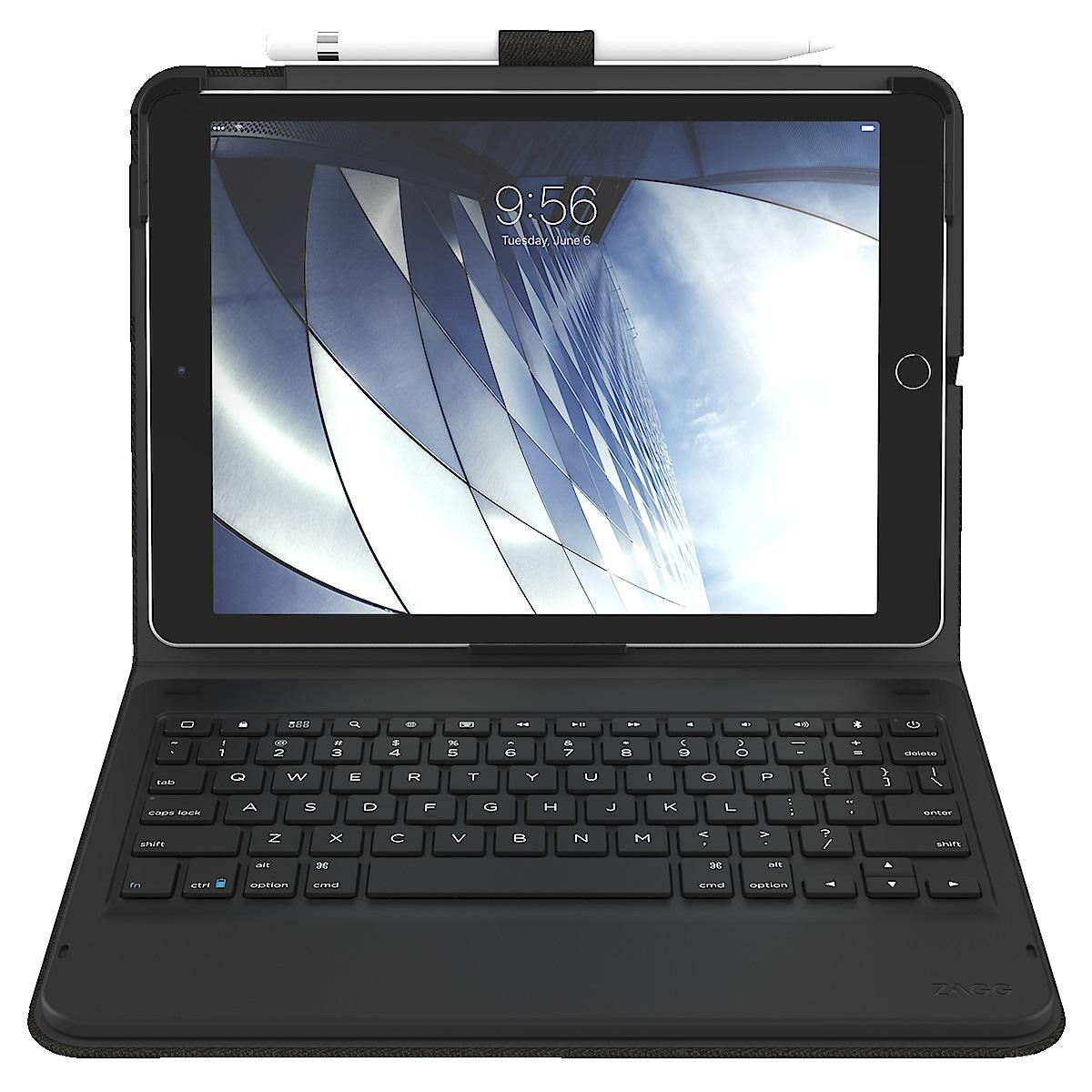 Zagg Messenger Folio etui med tastatur til iPad 10.2