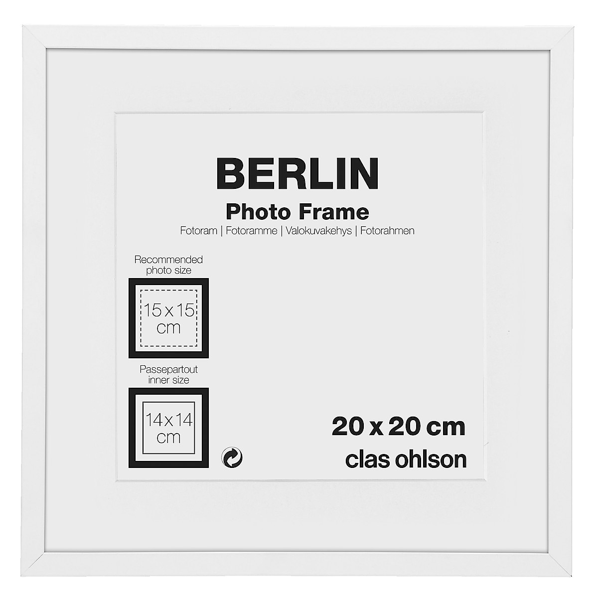 Fotoram Berlin, vit