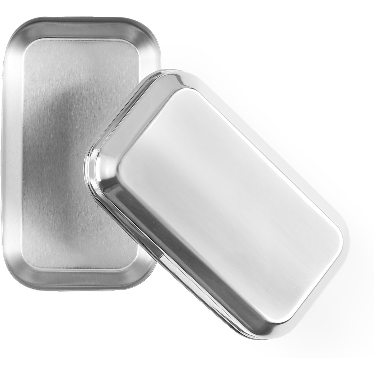 Matlåda i rostfritt stål