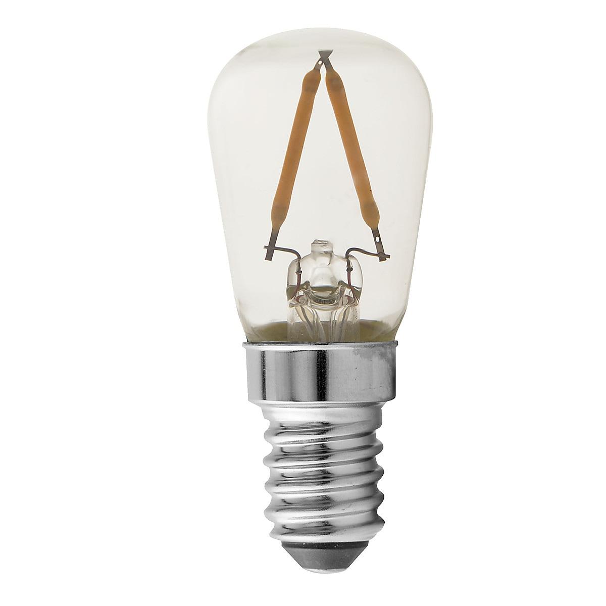 Päronlampa LED E14 Northlight