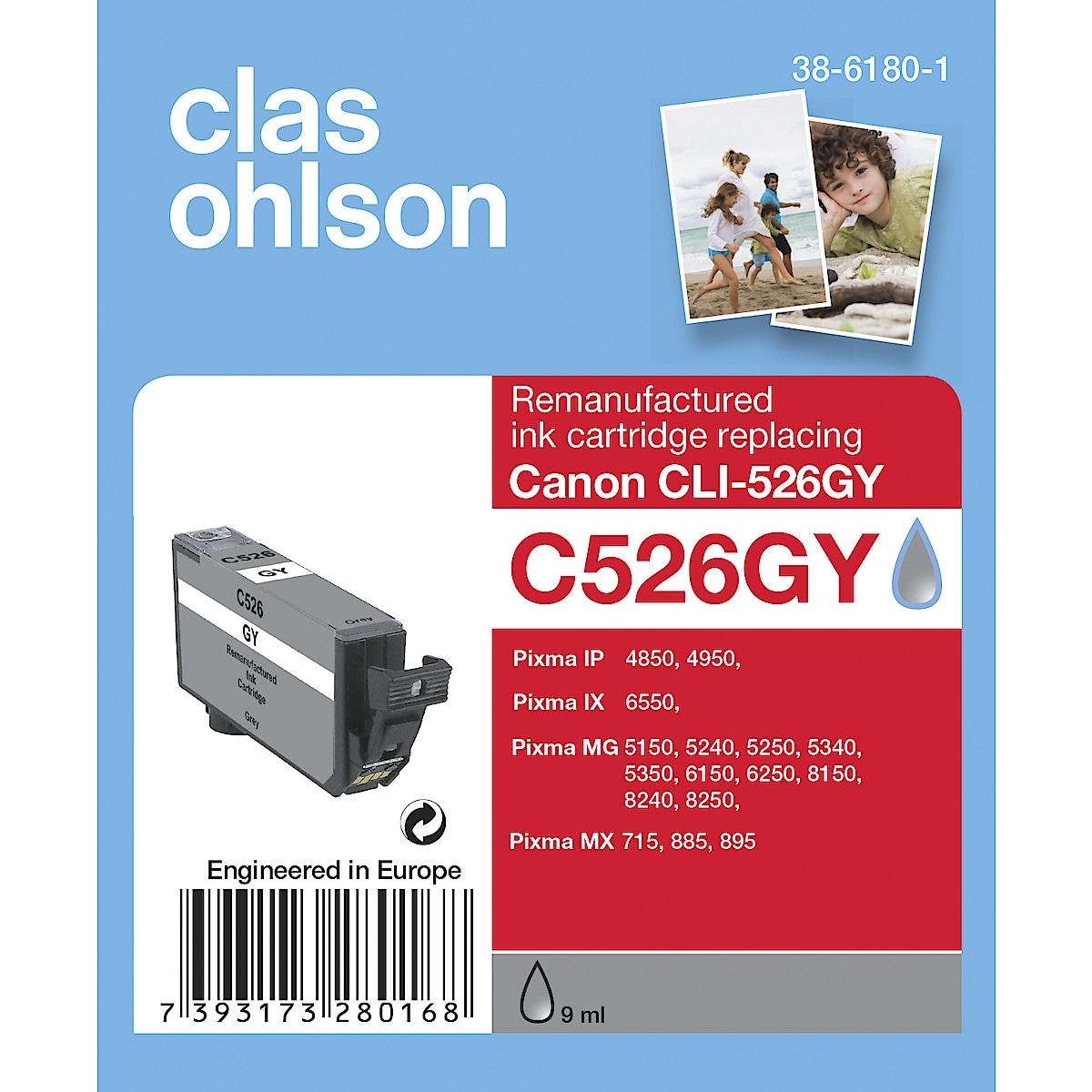 Bläckpatron Canon PGI-525 / CLI-526 Clas Ohlson