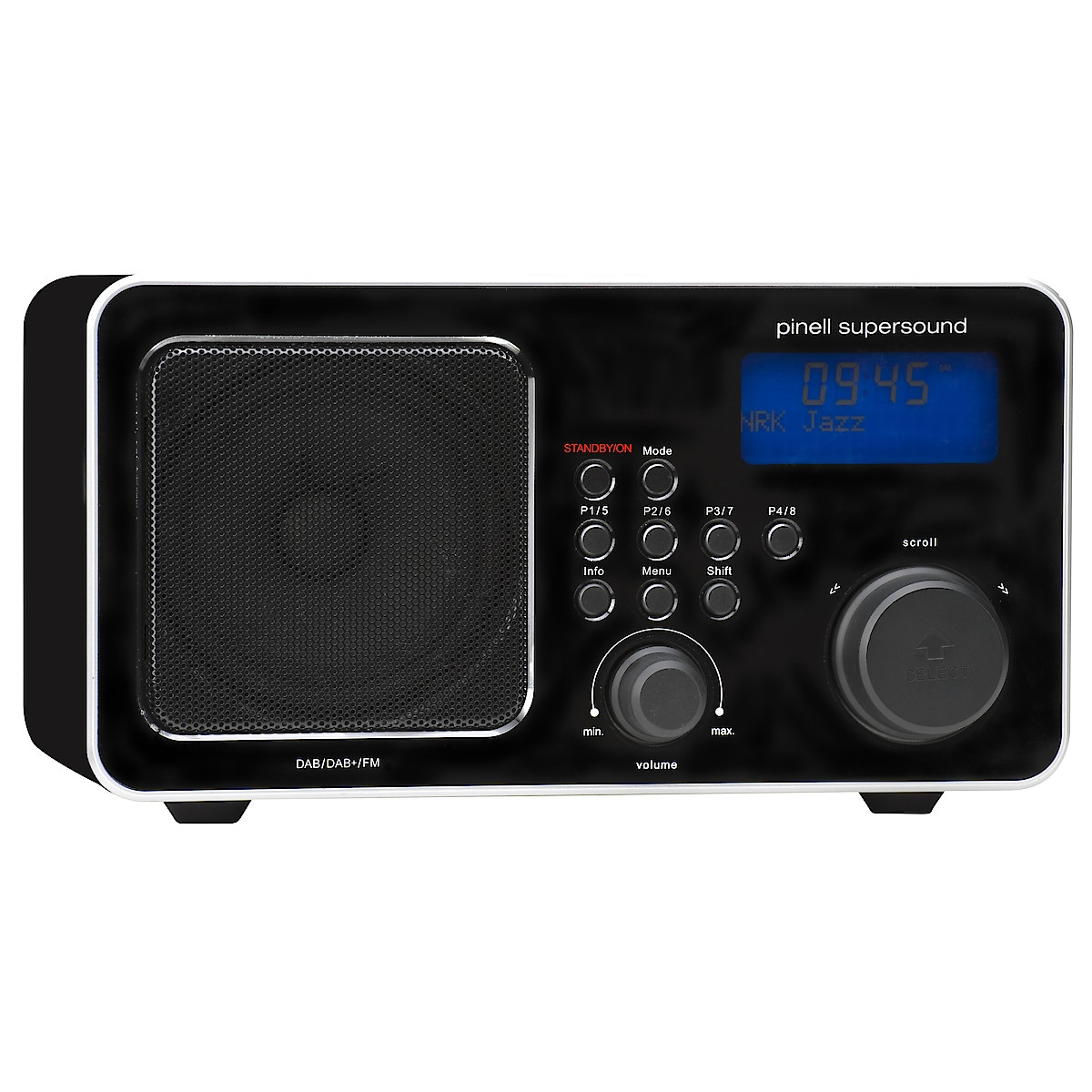 Pinell Supersound DAB/DAB+/FM-radio