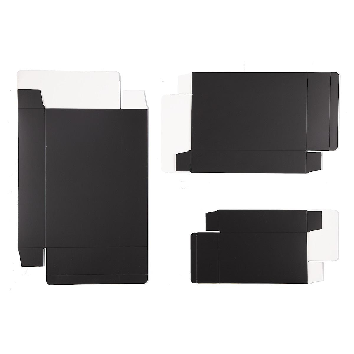 Gaveforpakninger 3 stk., svart