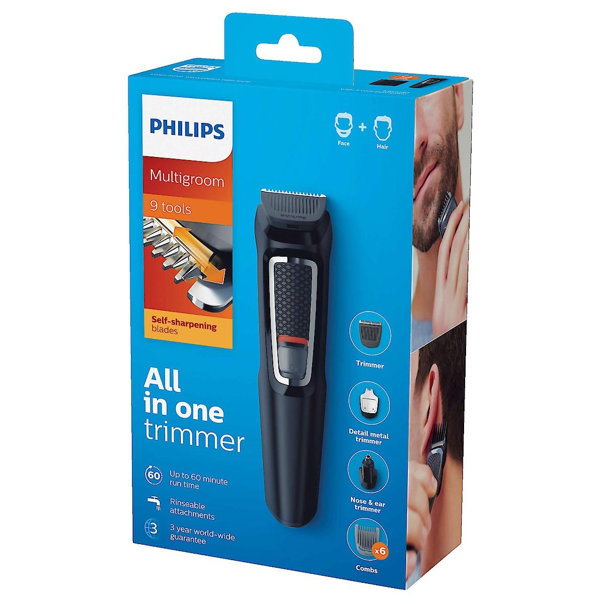 Philips Multigroom Series 3000 9-in-1 Grooming Kit
