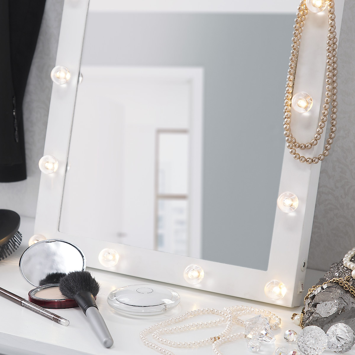 Northlight Mirror with Decorative LED Lights
