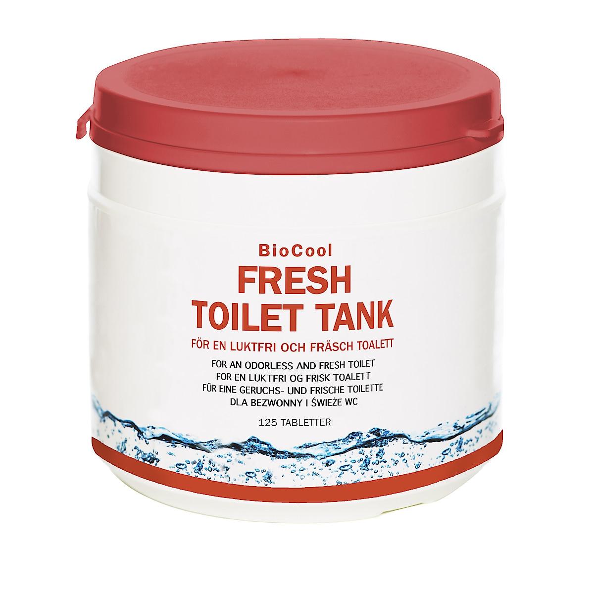 Saniteettitabletit WC- ja septitankkeihin BioCool Fresh Toilet Tank