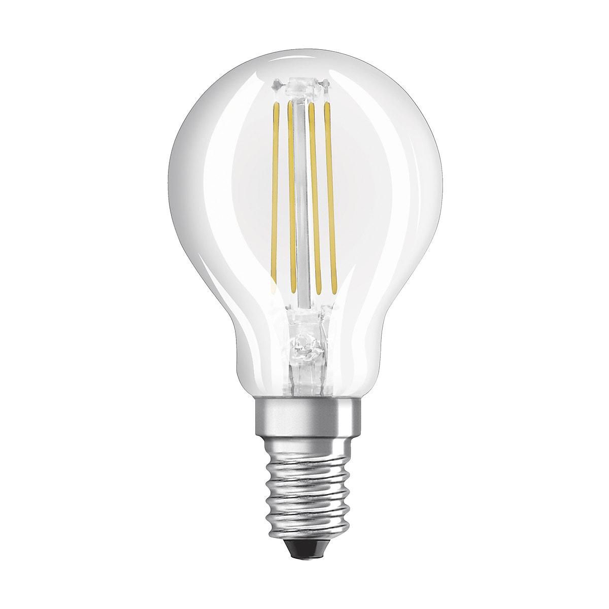 Himmennettävä pallolamppu LED Superstar E14 Osram