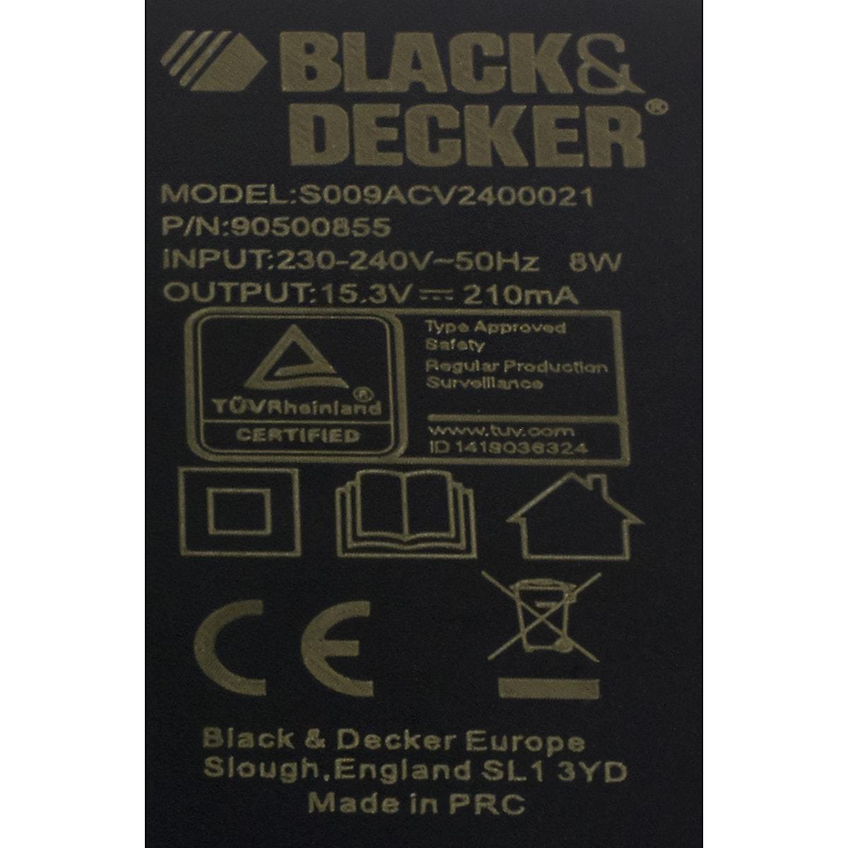 Black&Decker 5102767-28, lader