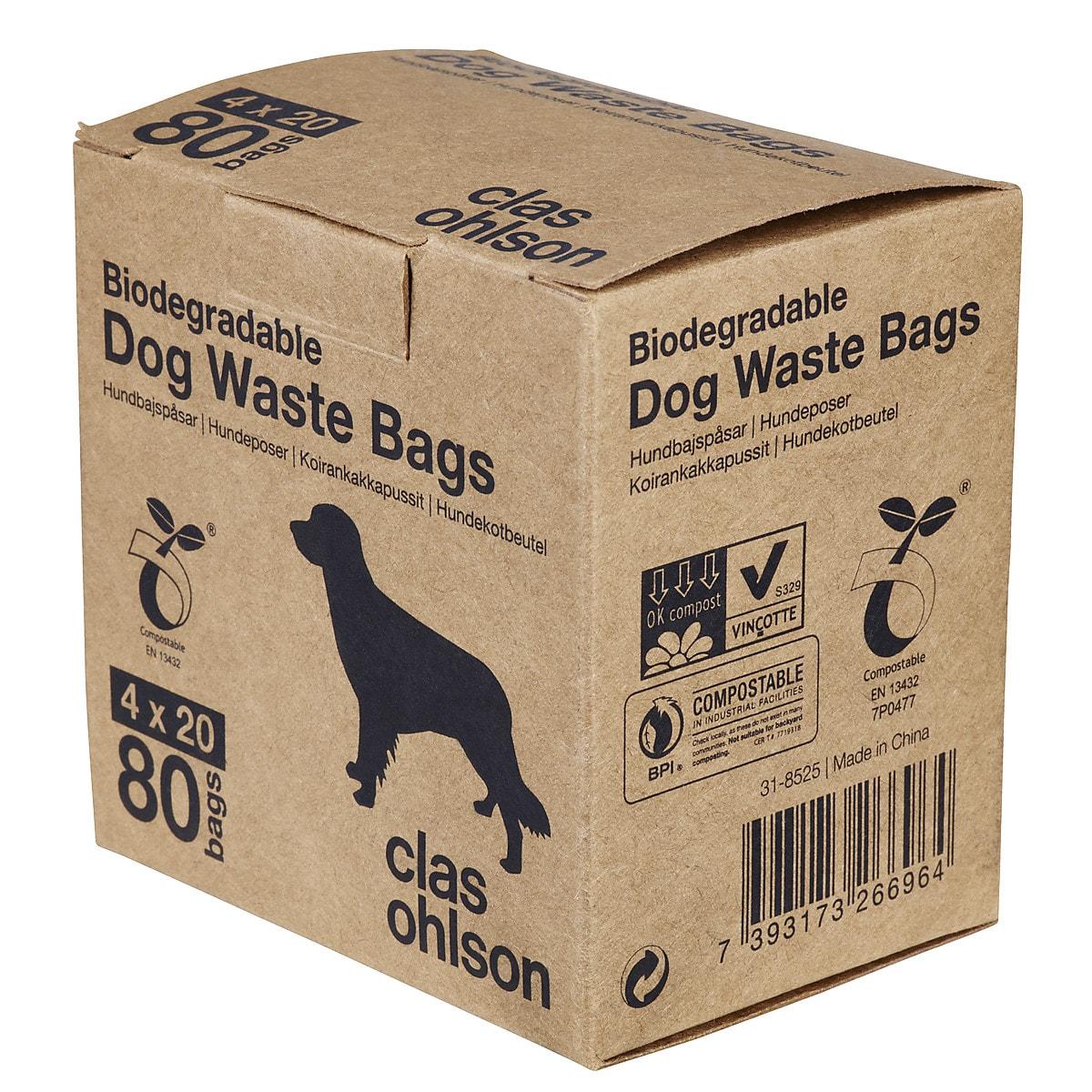 Koirankakkapussit 80 kpl