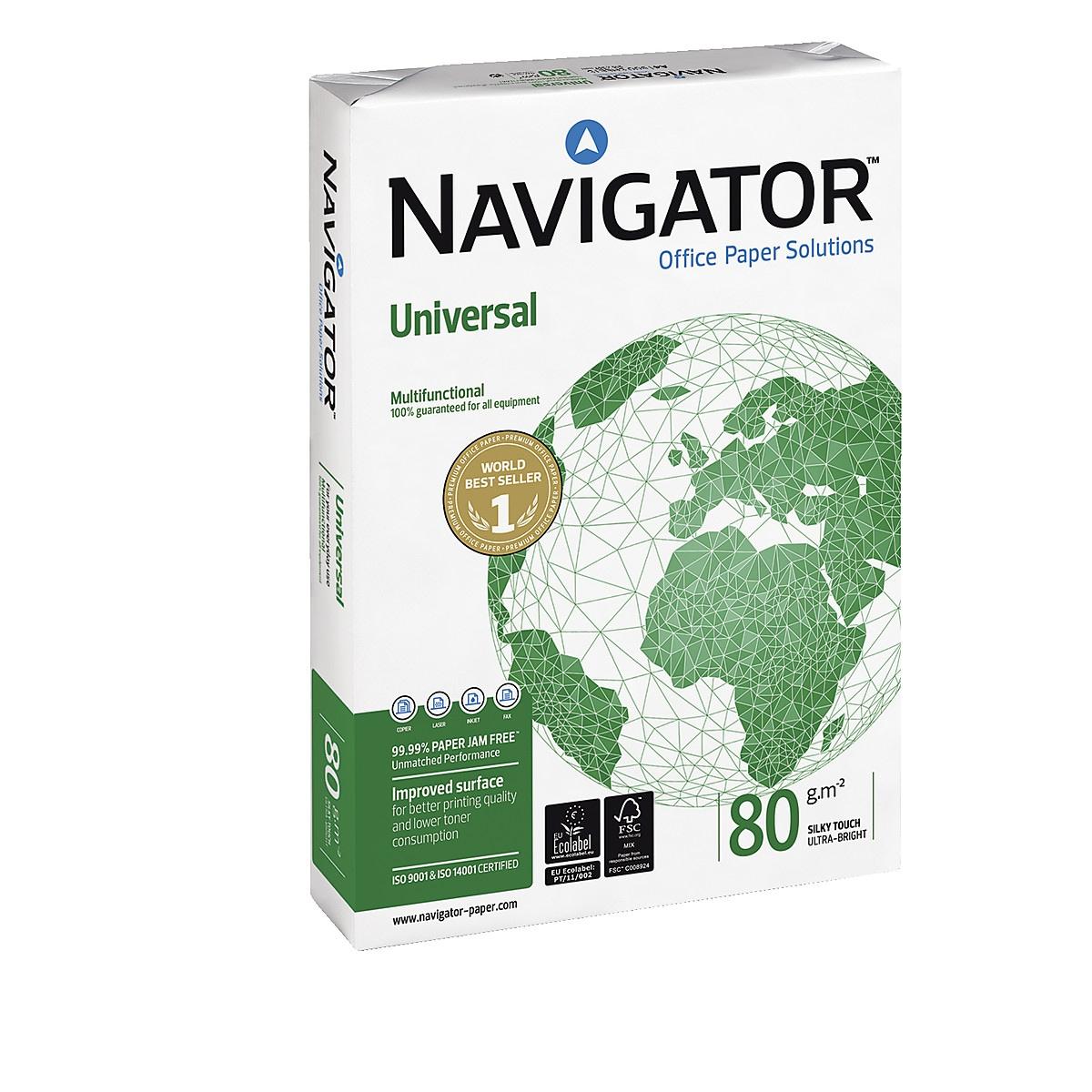 Navigator Universal 80 g/m² kopipapir