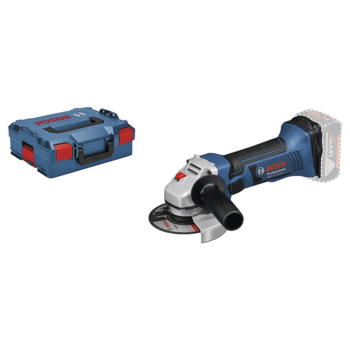 Vinkelslip GWS 18-125 V-LI Professional