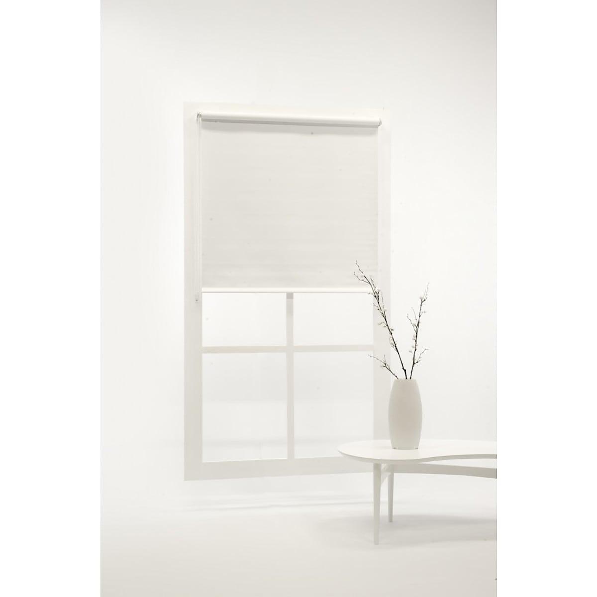 Rullgardin mörkläggande, vit